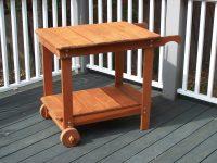 Redwood Bar Cart, BBQ cart - redwood furniture