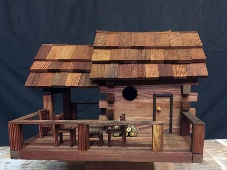 Arched Roof Birdhouse