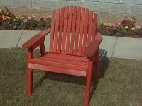 Redwood Patio Dining Chair