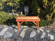 Redwood Garden Bench